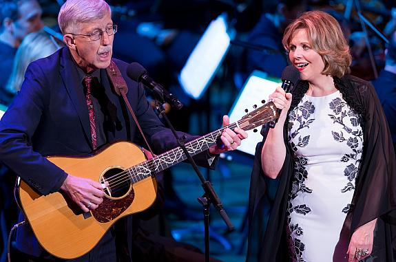 NIH Director Dr. Francis Collins and Renée Fleming