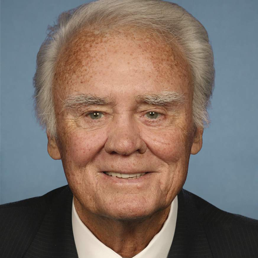 """Portrait of US Rep Charles William """"Bill"""" Young"""