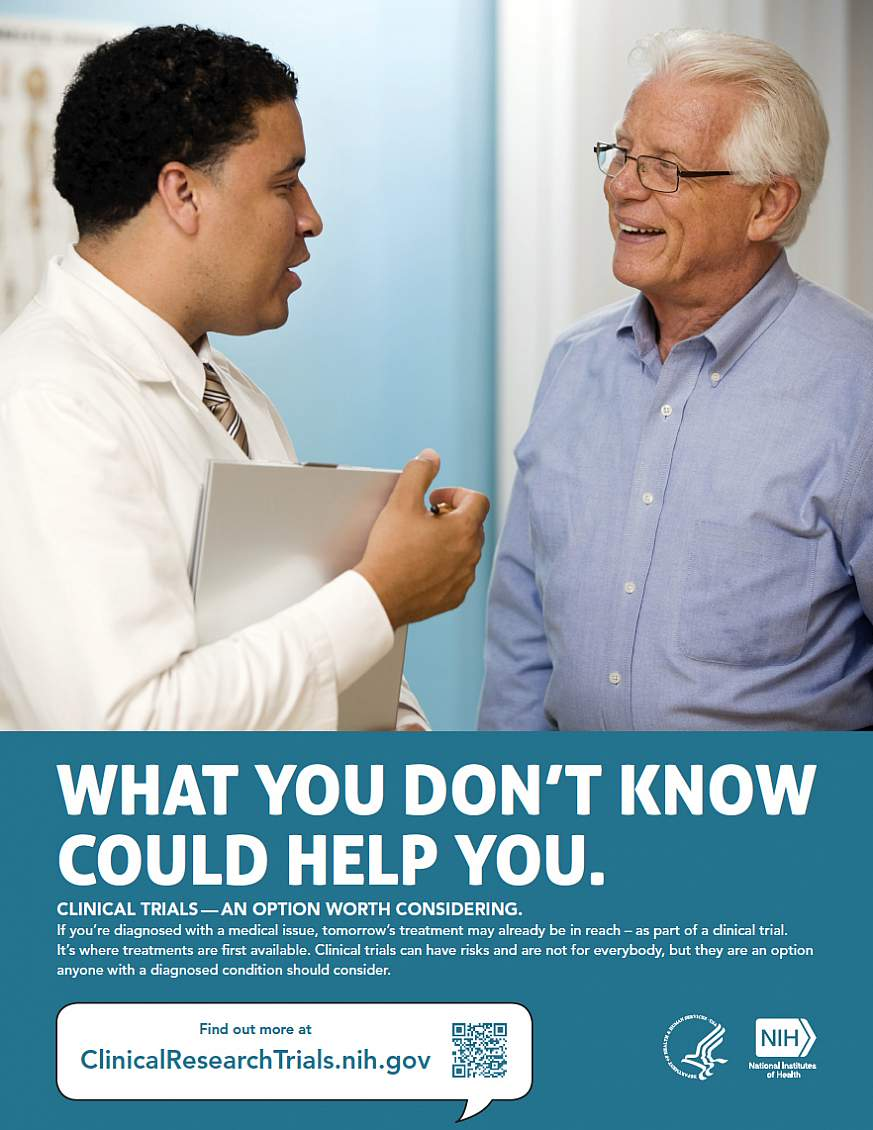 """What You Don't Know Could Help You."" poster"