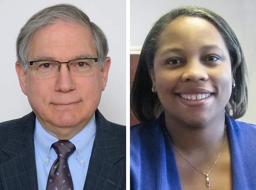 Larry Tabak and Courtney Aklin