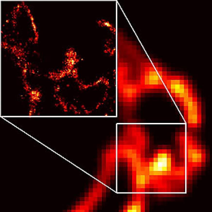 new PALM microscopy