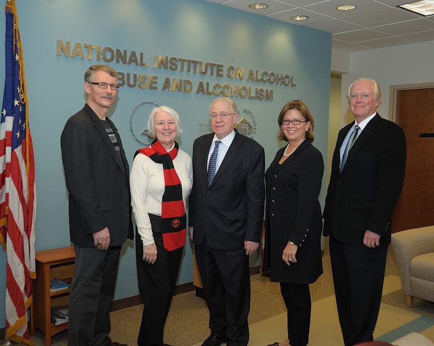 Image of new NIAAA advisory council members.