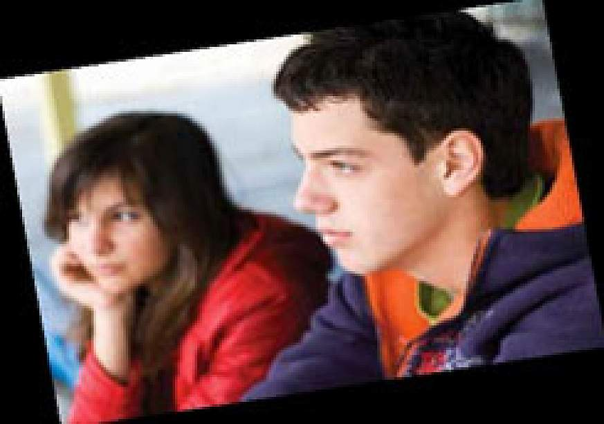 Teens hear about substance abuse resources.
