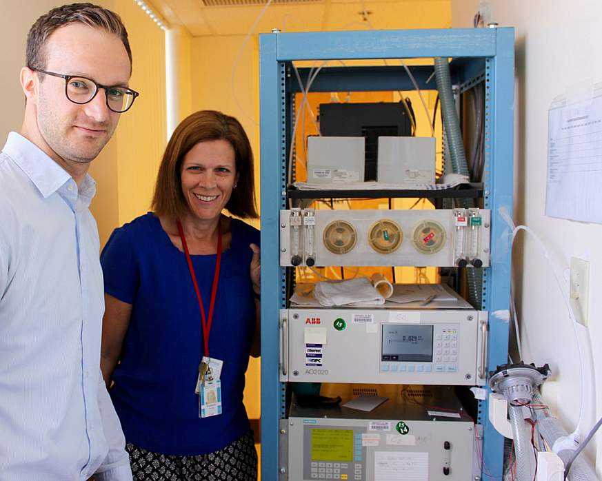 Lead researchers Drs. Martin Reinhardt and Susanne Votruba