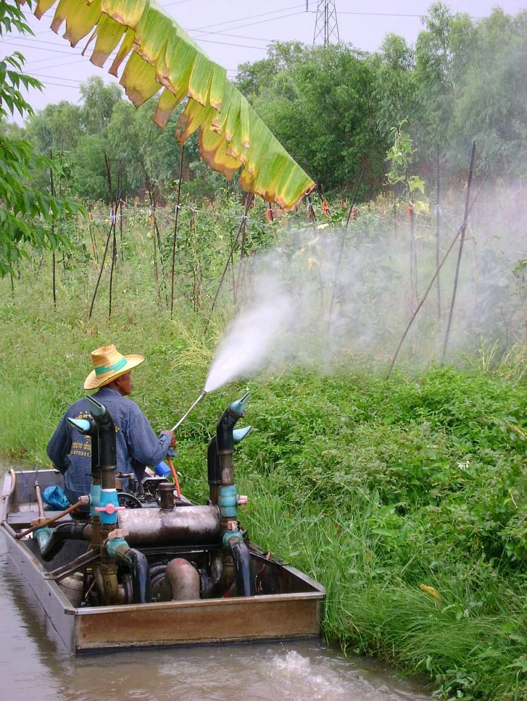 Image of pesticide spraying
