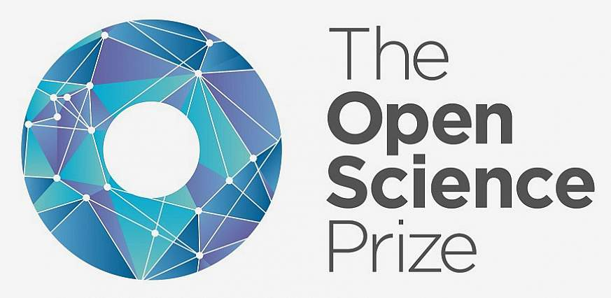 Open Science Prize logo.