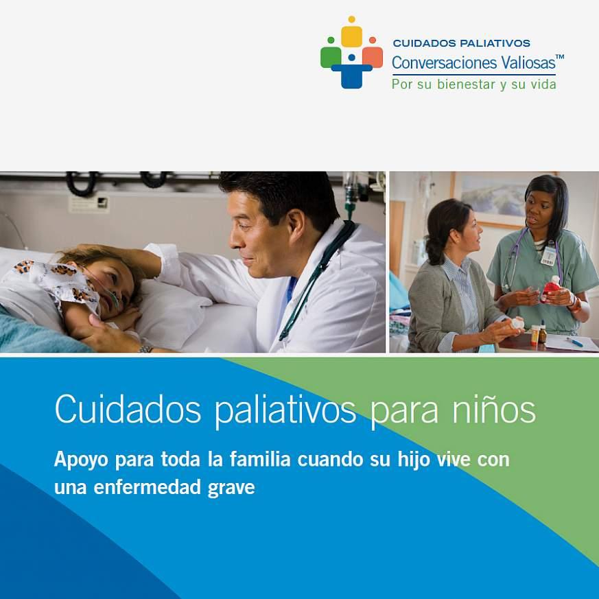 NINR brochure Cuidados paliativos para niños