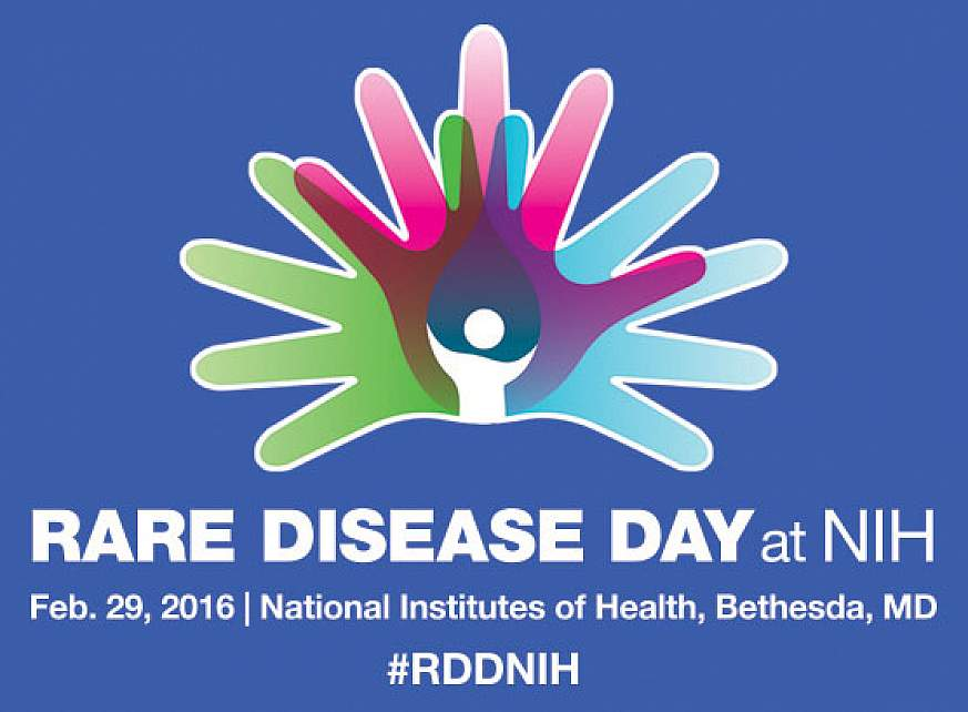 NIH Rare Disease Day logo