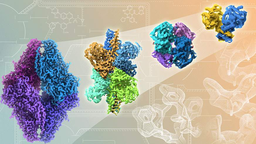 Improving resolutions in atomic detail of proteins and drug binding sites.