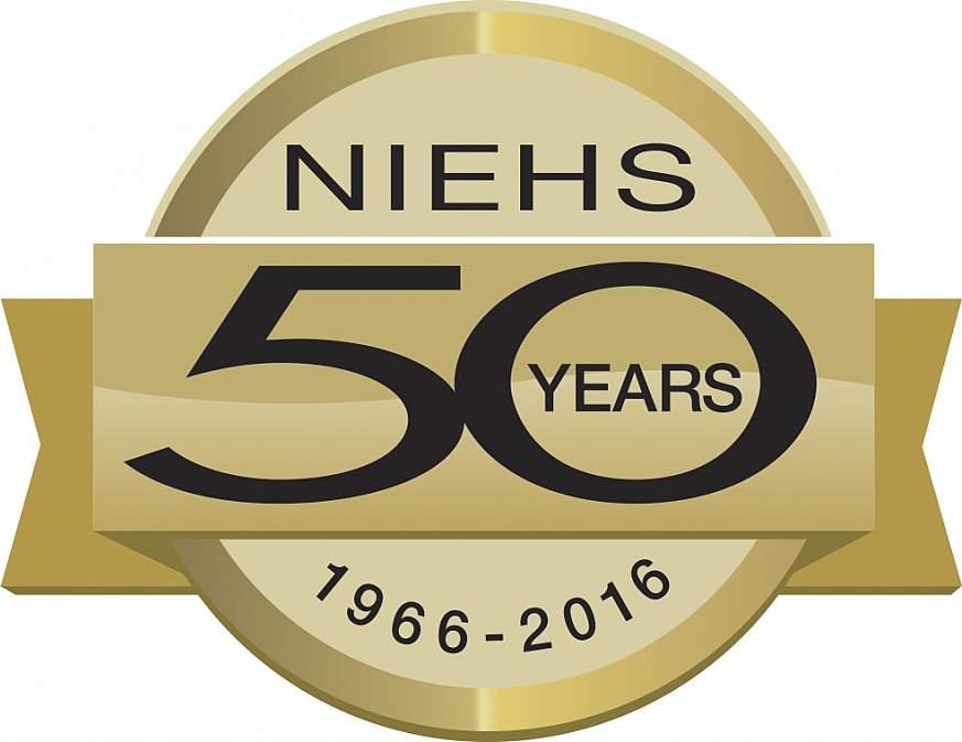 NIEHS 50th anniversary logo