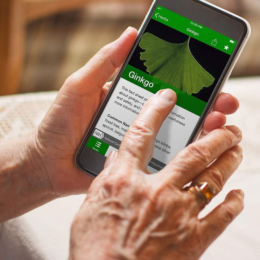 Screenshot of Herblist
