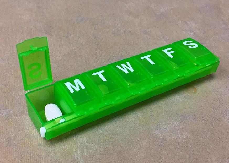 Image of a pill box