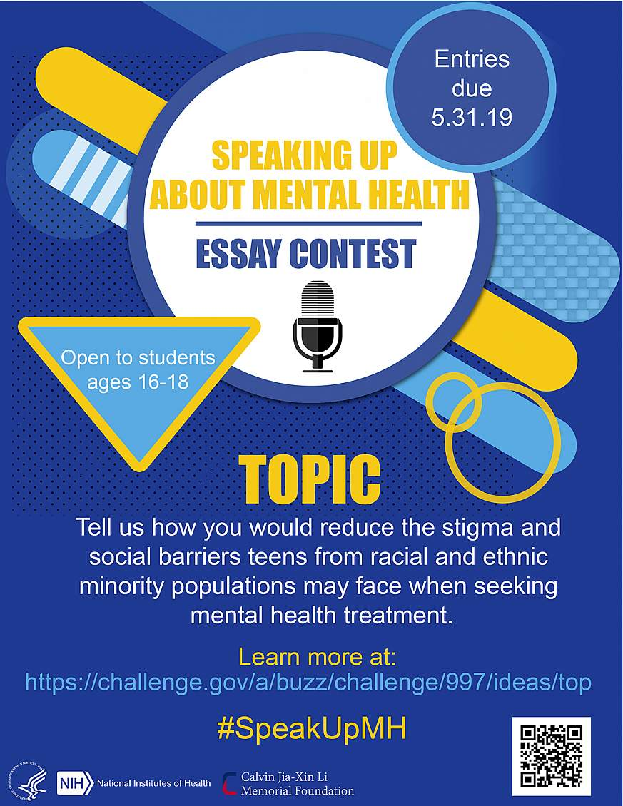 Nationwide essay contest challenges high schoolers to be frank about