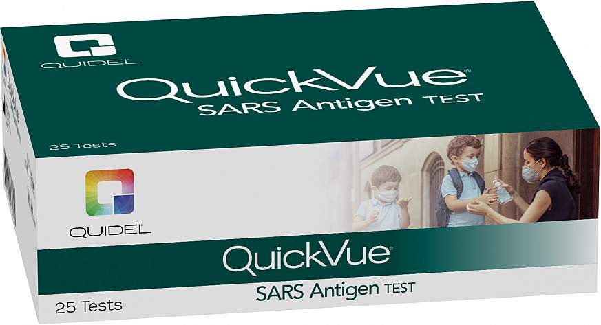 Quidel QuickVue At-Home COVID-19 Test