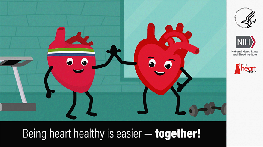 Being heart healthy is easier - together!