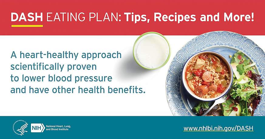 DASH Eating Plan: Tips, Recipies and More!