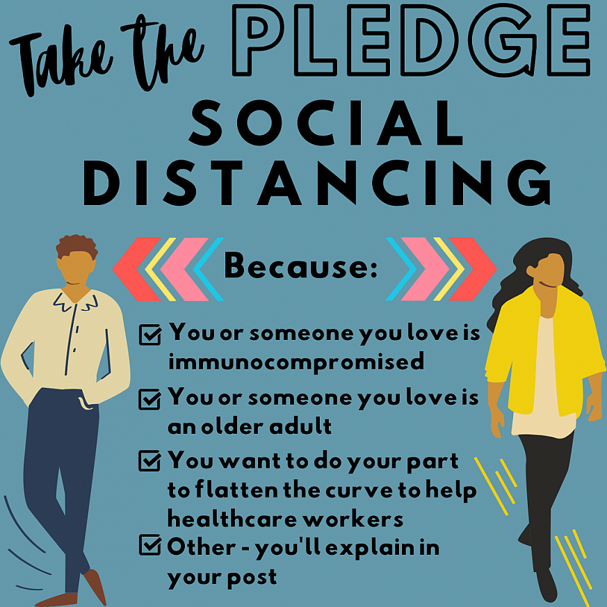 Social Distancing - Take the Pledge