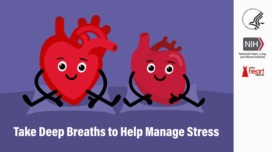 Take Deep Breaths to Help Manage Stress