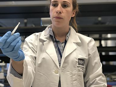 Image of a researcher