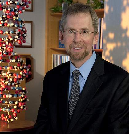 Portrait of Dr. Eric Green.