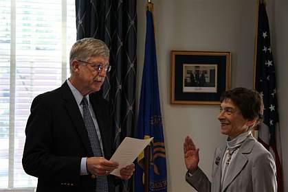 NIDCR Director Somerman Sworn In