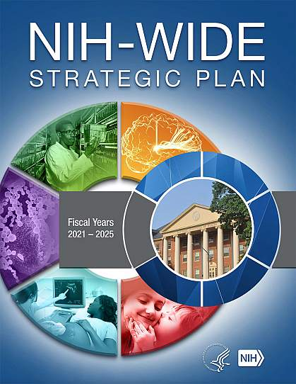 Cover of the NIH-Wide Strategic Plan FY2021-2025