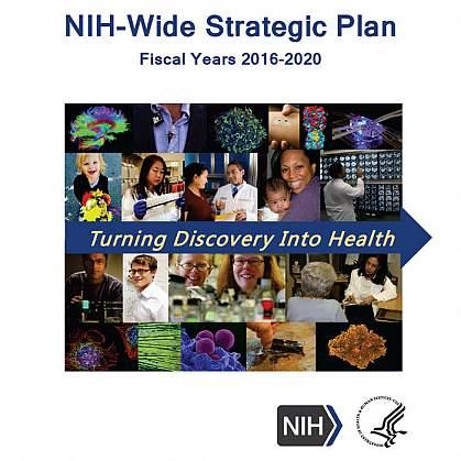 NIH-Wide Strategic Plan cover page