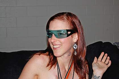 Lauren Sidorowicz enjoys a U2 concert in Baltimore in summer 2011.