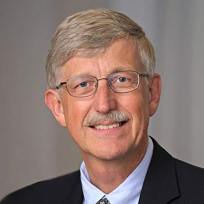 Portrait of Dr. Francis Collins