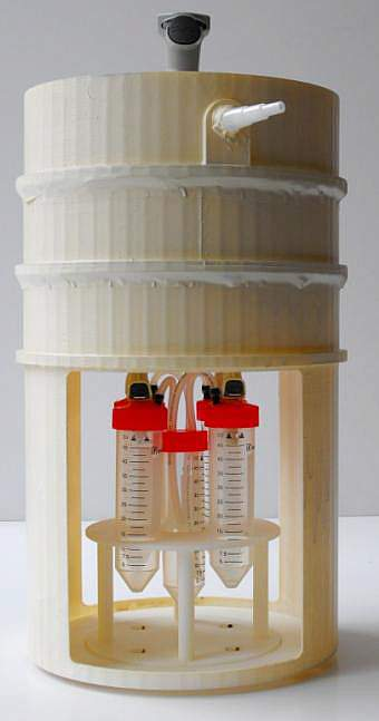Photo of the Microflora refinement system