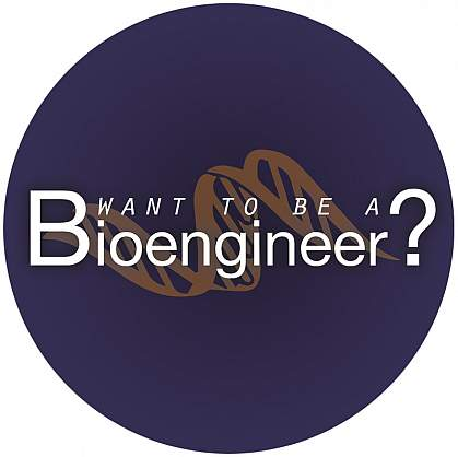 Image of the Want to Be a Bioengineer logo