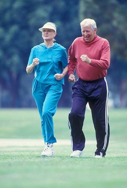 photo of a happy elderly couple