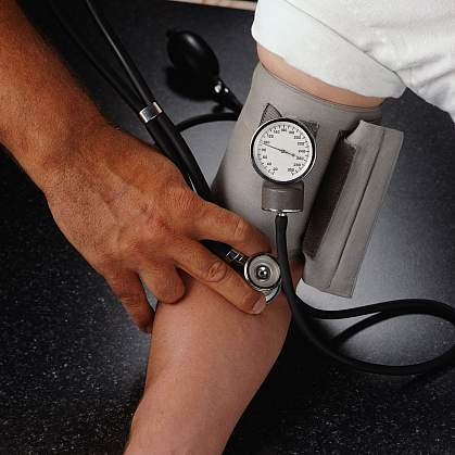 image of blood pressure being taken