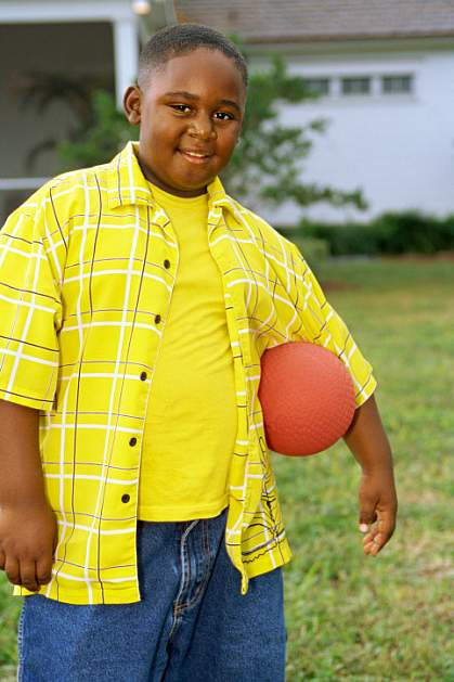 photo of an overweight youth