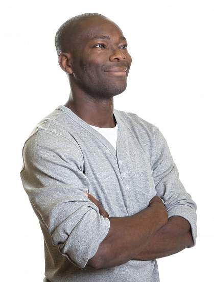 Picture of a black man