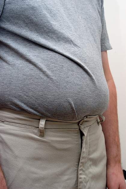 Photo of a big belly