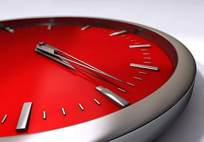 A photo of a clock