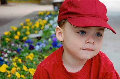 Photo of a little boy