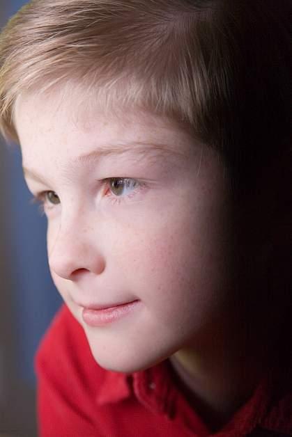 Photo of a boy's face