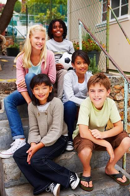 Photo of preadolescents