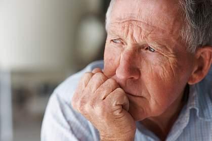 Photo of an elderly man