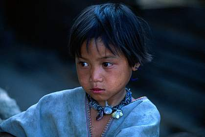 A young girl.