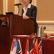 NHLBI Program Director Dr. Cristina Rabadán-Diehl