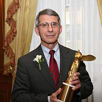 Anthony S. Fauci receives Mary Woodard Lasker Award