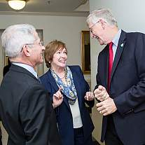 Dr. Brenda Fitzgerald meets with NIH Director Dr. Francis Collins