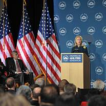 Former Secretary of State Hillary Rodham Clinton