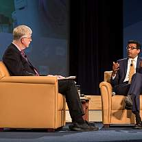 Dr. Francis Collins and Dr. Atul Gawande