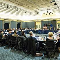 NIH hosts a trans-HHS meeting with private sector partners to fight the opioids crisis
