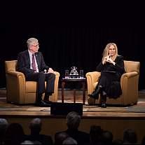 Barbara Streisand speaks at NIH