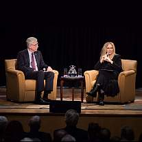 Barbara Streisand speaks at NIH